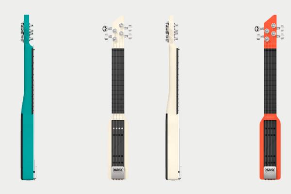Maquette guitare dulcie