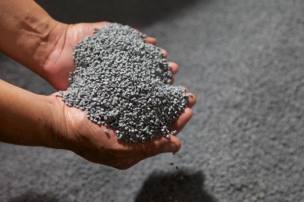 grains abs matière plastique